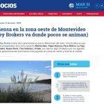 Alguien piensa en la zona oeste de Montevideo (Golden Key Brokers va donde pocos se animan) | Nota de Infonegocios