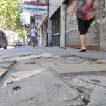 Veredas rotas: Mirá en que barrios de Montevideo los vecinos estarán obligados a pagar la «reparación masiva»